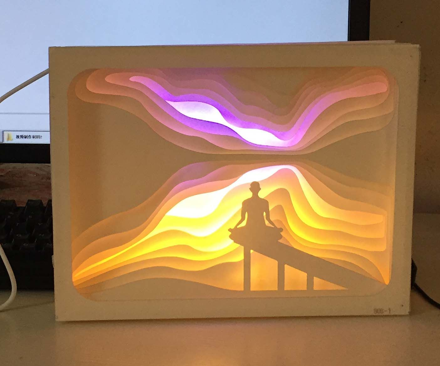 Papercut Light Boxes