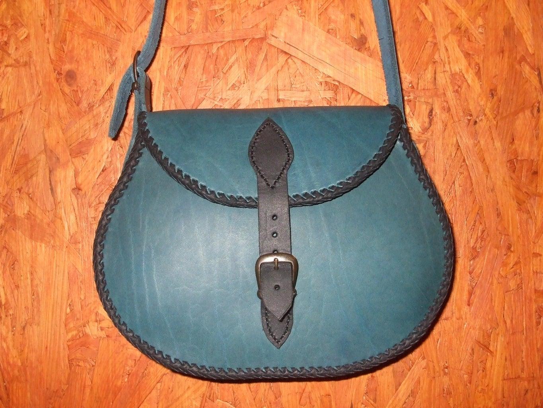 How to Make a Cowhide Ladies Bag