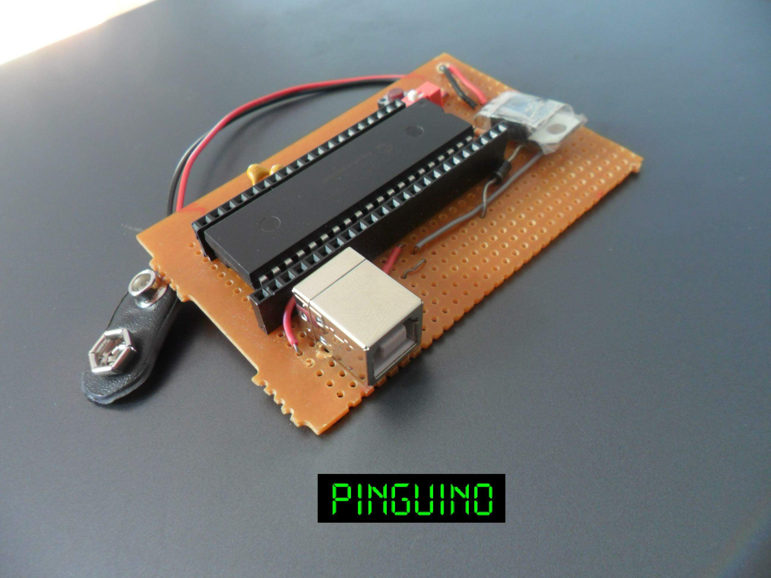 Pinguino Egypt - PIC Based Arduino