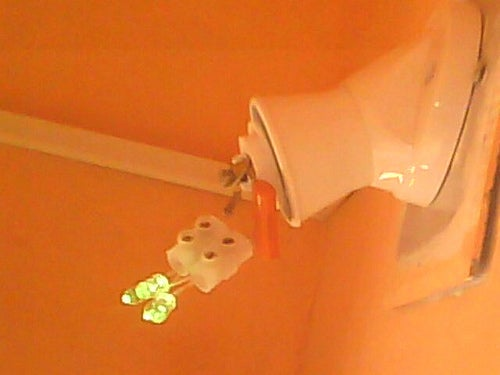 Light Bulb (World's Best) Using Wire Connector & No Soldering !!!