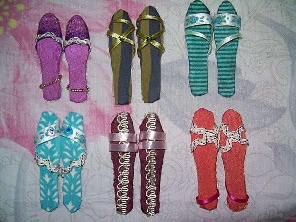 Make Footwear With Ice Cream Sticks
