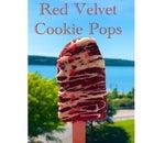 Red Velvet Cookie Pops