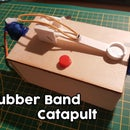 Automatic Rubber Band Catapult