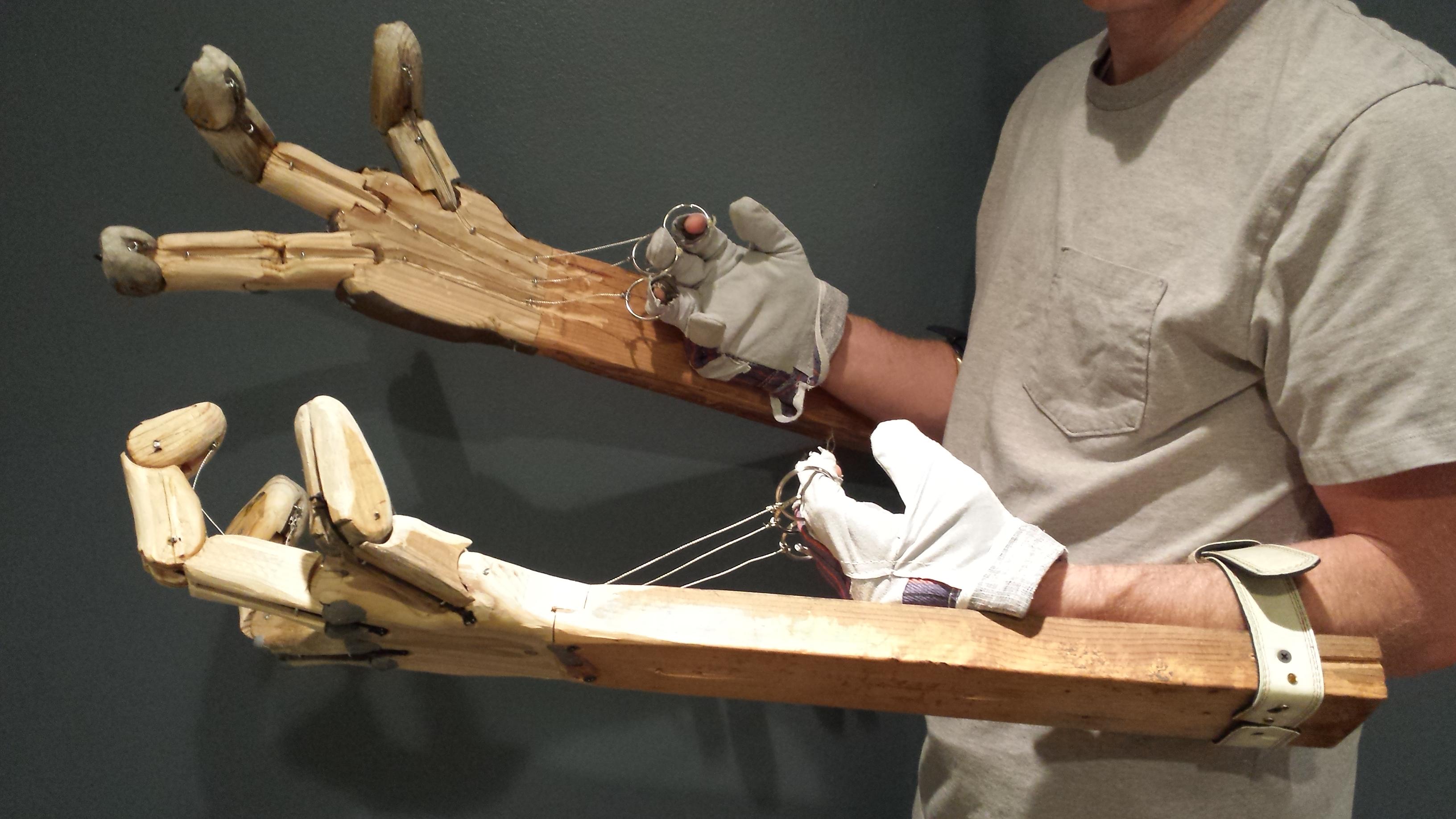 Mechanical Monster Hands