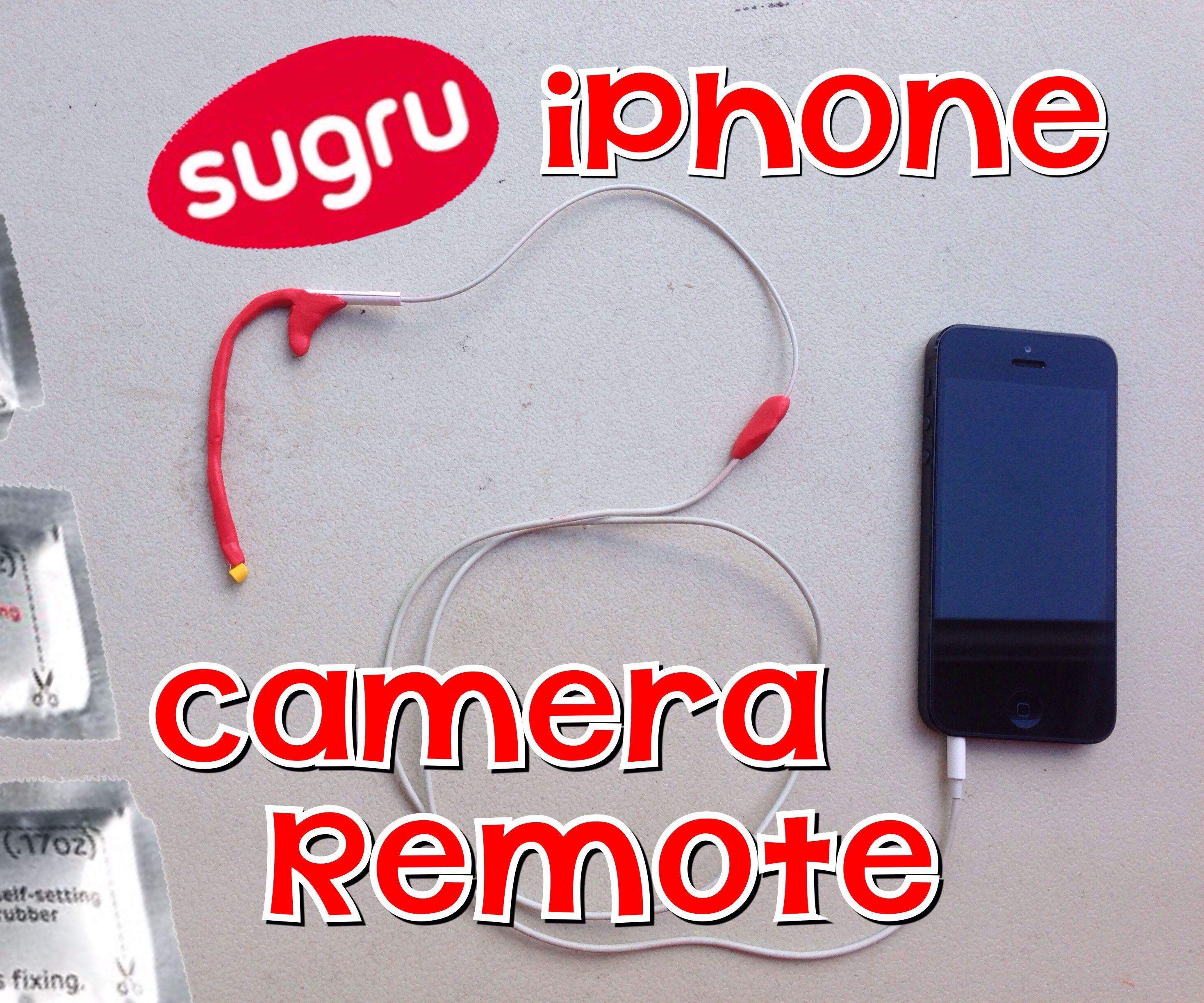 Sugru iPhone Camera Remote With Lego Hand