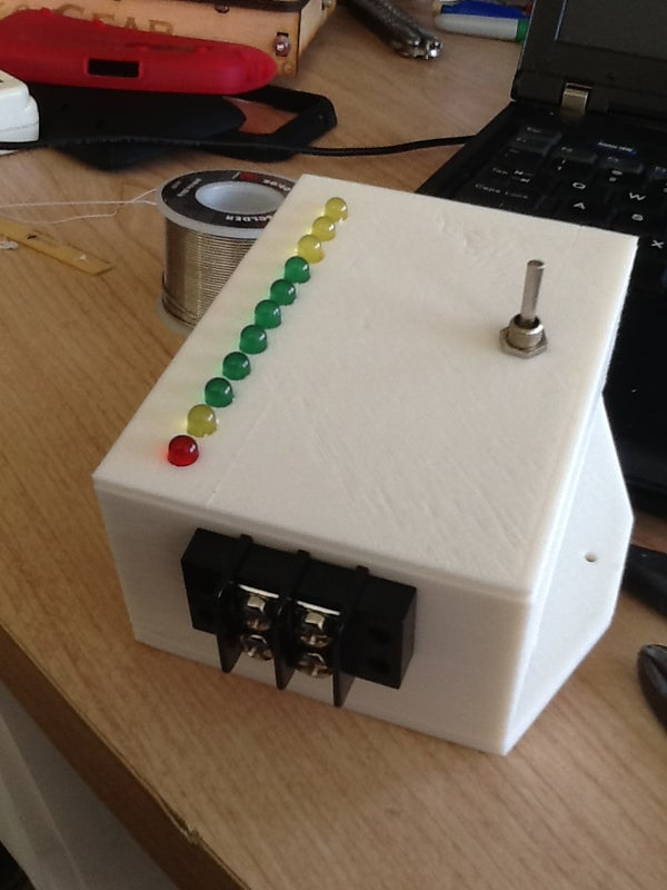 Battery State of Charge Meter