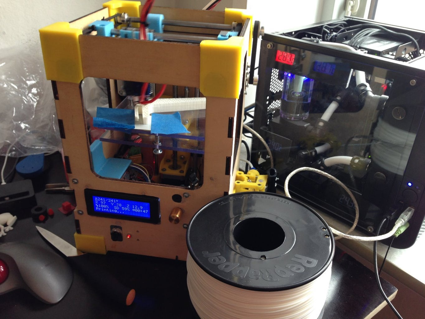 Complete Newbie Step by Step, 3D Printer With All Parts Lists