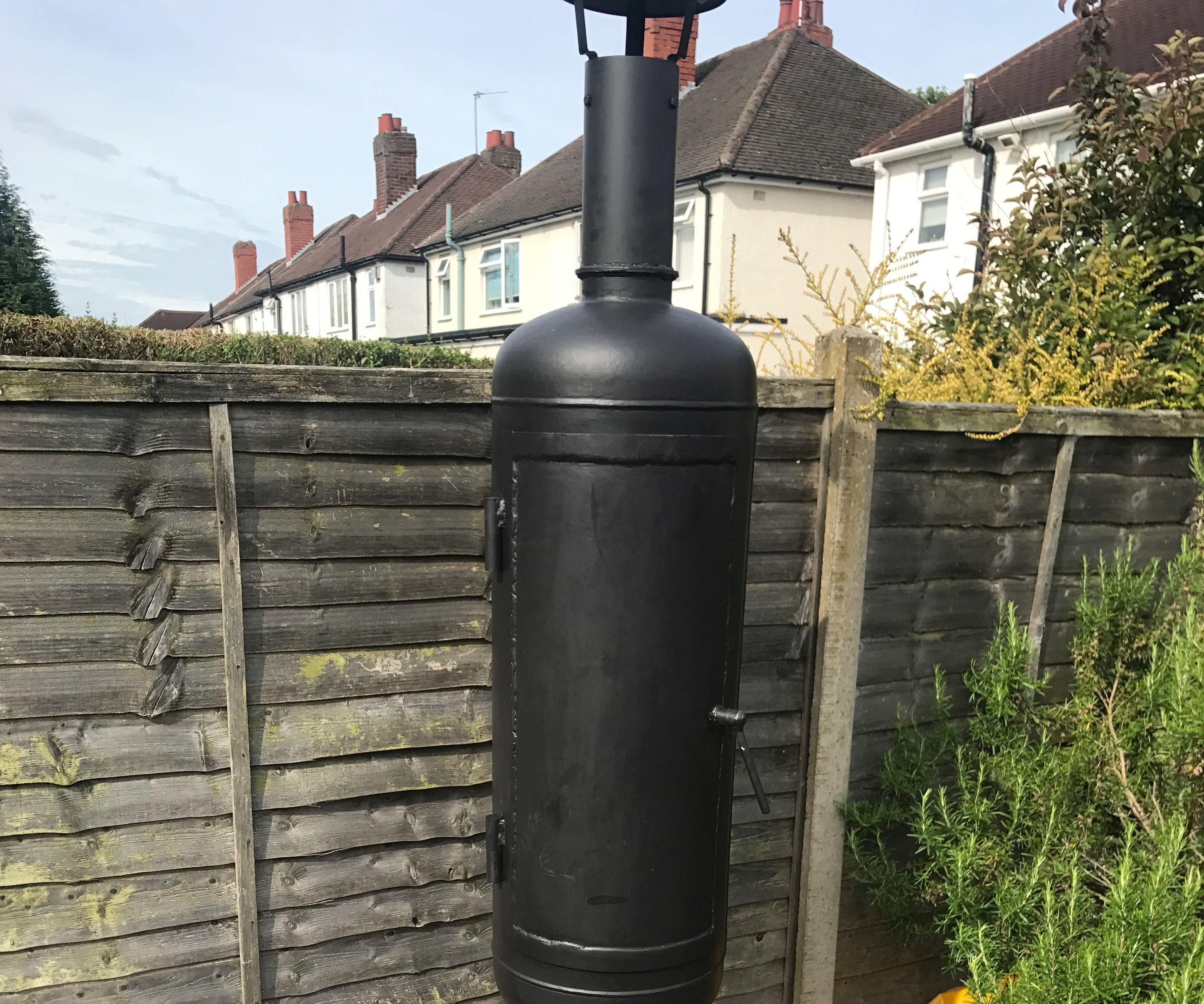 Gas Bottle Hot Smoker
