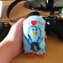 Fathers Day Daddy Penguin and Baby Penguin Plushie