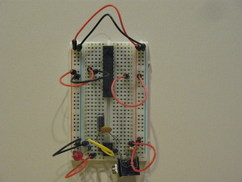 Power the ATMEGA328 (analog)