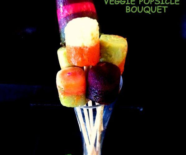 Veggie Popsicle Bouquet