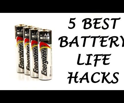 5 Best Battery Life Hacks