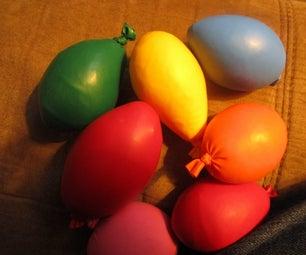 Stress-Balls Made With Scrap Yarn