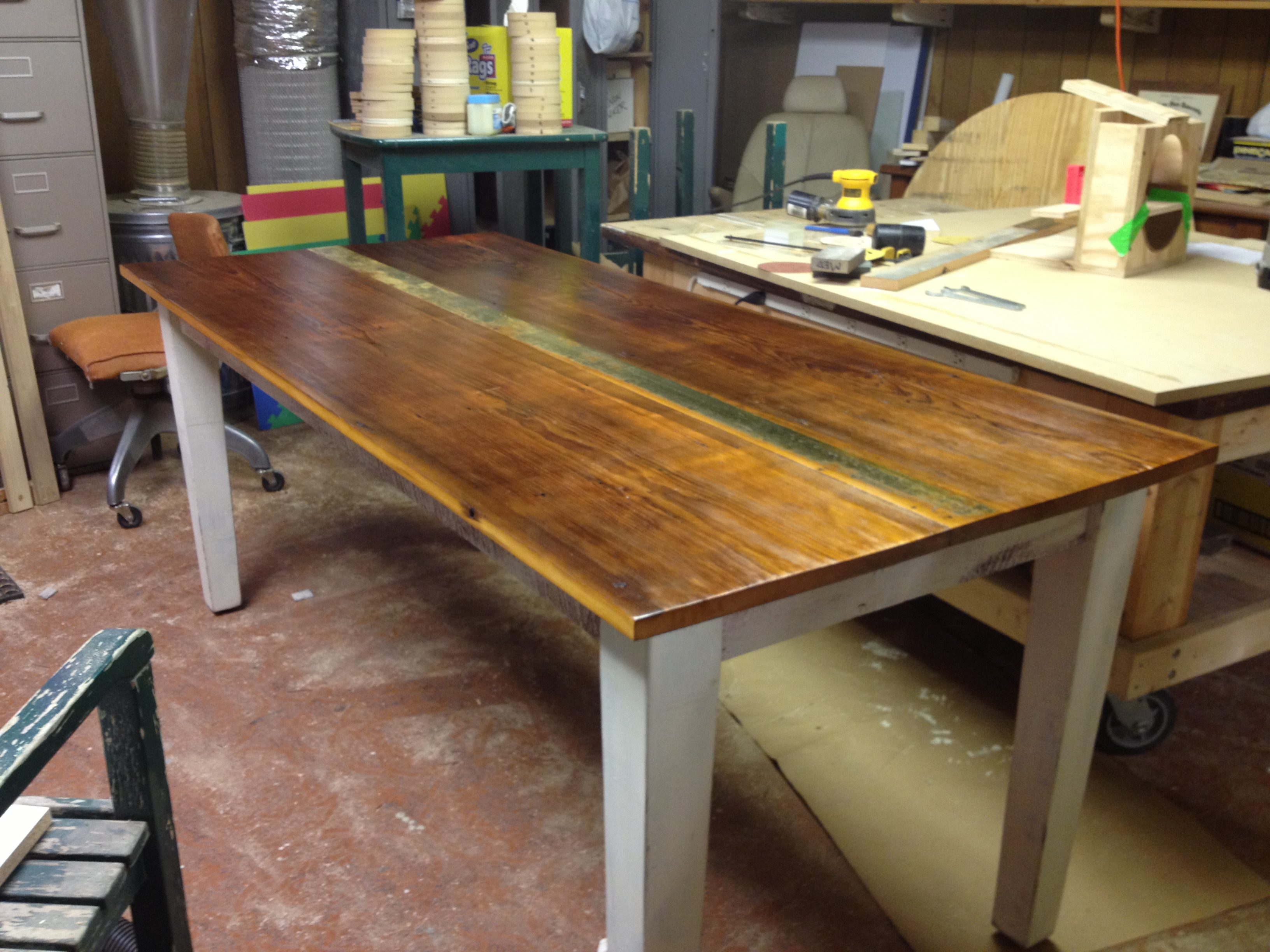 Build A Farmhouse Table 5 Steps With Pictures Instructables