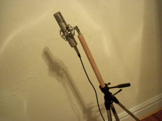 Totally Reversible Camera Tripod Into Mic Stand Hack