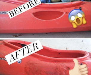 Fixing a Plastic (polyethylene) Kayak With a Hole in It