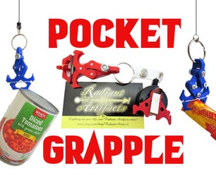 Pocket Grapple- a Toy Mechanical Claw Grappling Hook