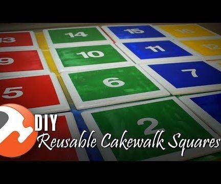 DIY Reusable Cakewalk Squares