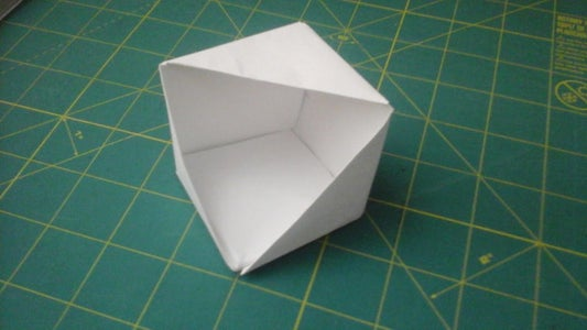 Origami Open Faced Cube