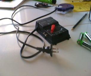 Speed Controlled Desk Fan