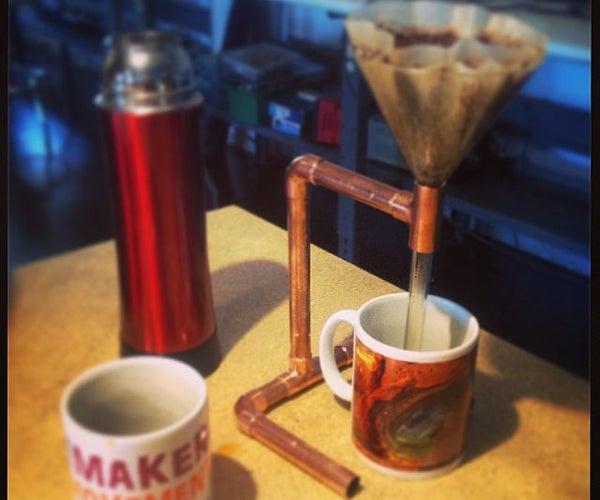 Cafetera Con Tubería De Cobre