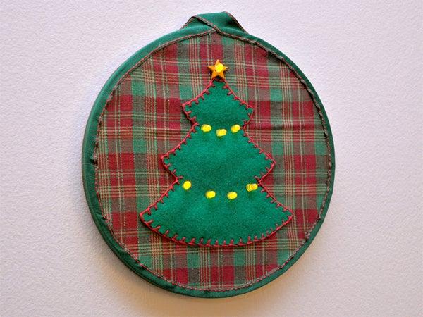 Christmas Tree LED Embroidery