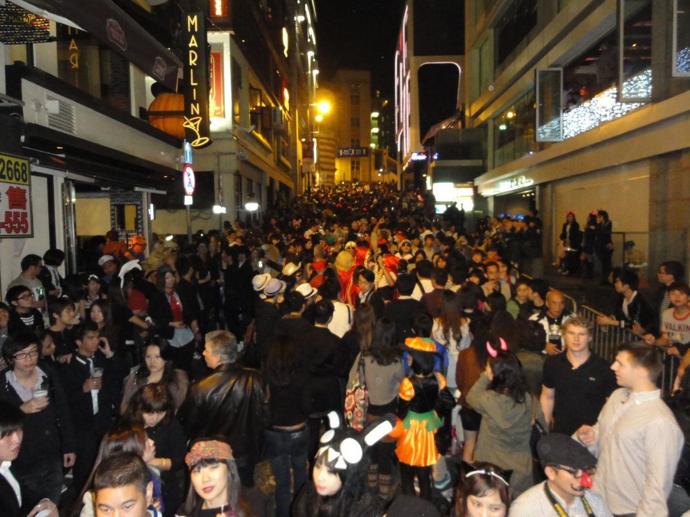 No Pictures Costume for Hong Kong Halloween