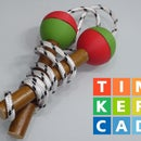Kids Jump Rope With Wood Handles and 3D Printed Balls