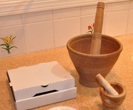 Mortar and Pestle Cover