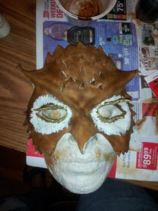 Dye and Paint the Mask