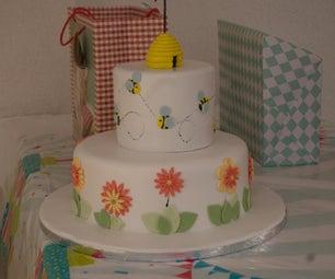 Fondant Bee Cake