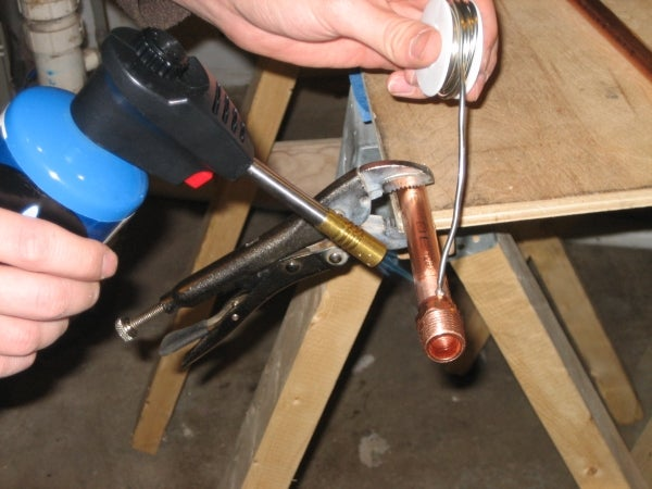 How to Sweat (solder) Copper Pipe