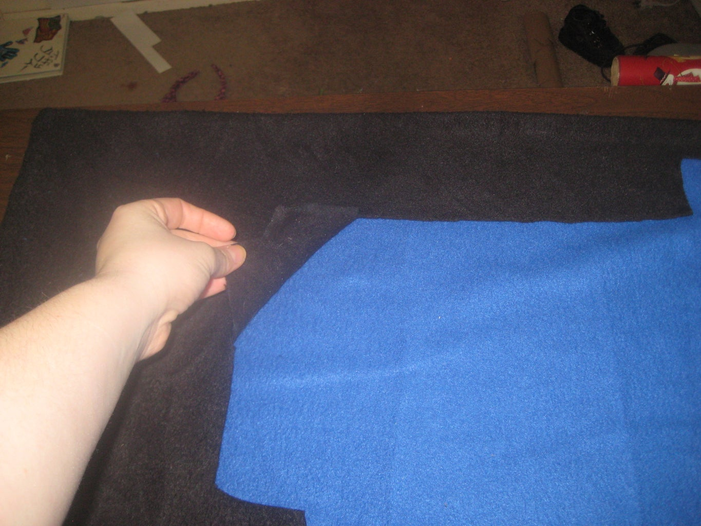 Start Glueing and Sewing