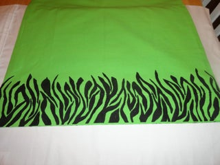Painting a Pillowcase