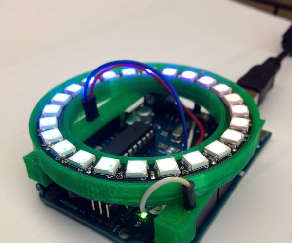 NeoPixel 24 Ring Arduino Shield