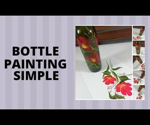 BOTTLE PAINTING SIMPLE