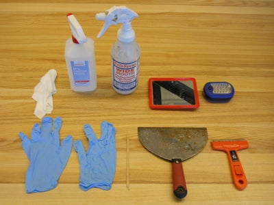 Clean the Objet (Part 1: Stuff You Will Need and How to Clean the Tray)