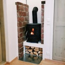 Podium for a Wood Stove