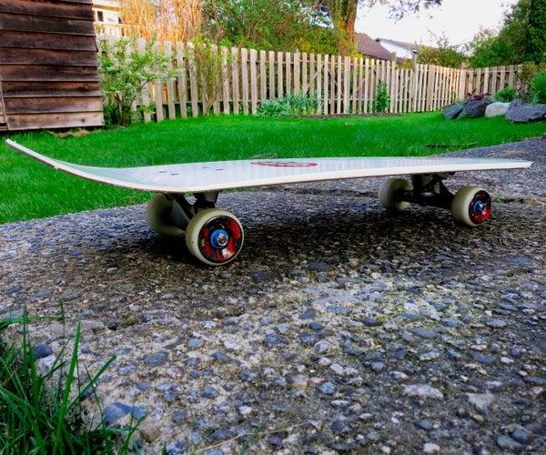 Make a Skateboard From a Snowboard