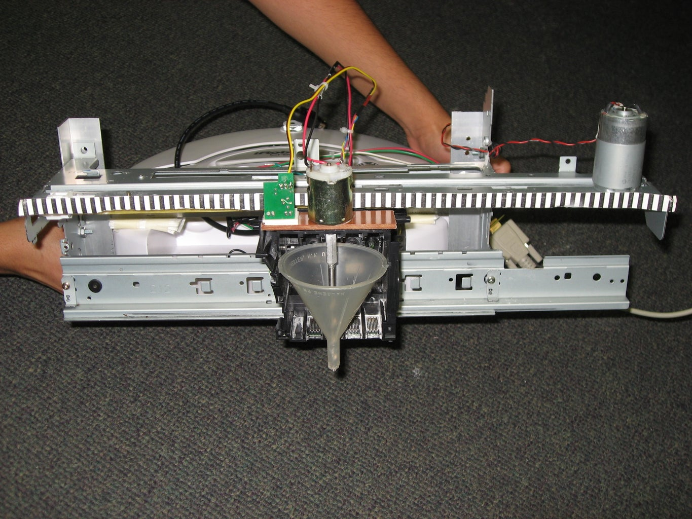 Printer Disassembly and Motor Control