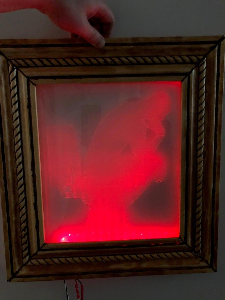 LED Bathroom Occupancy Sign