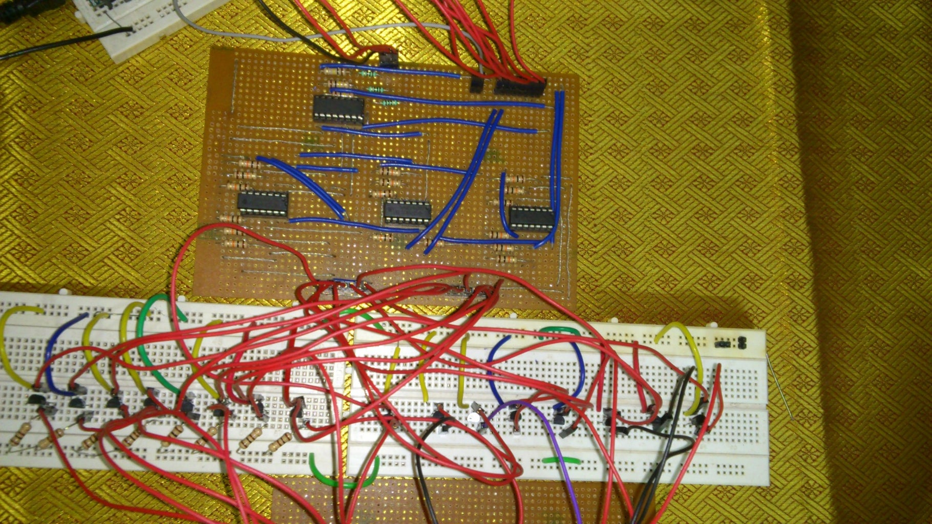 The NOT Gate and the MOSFET Driver Circuit
