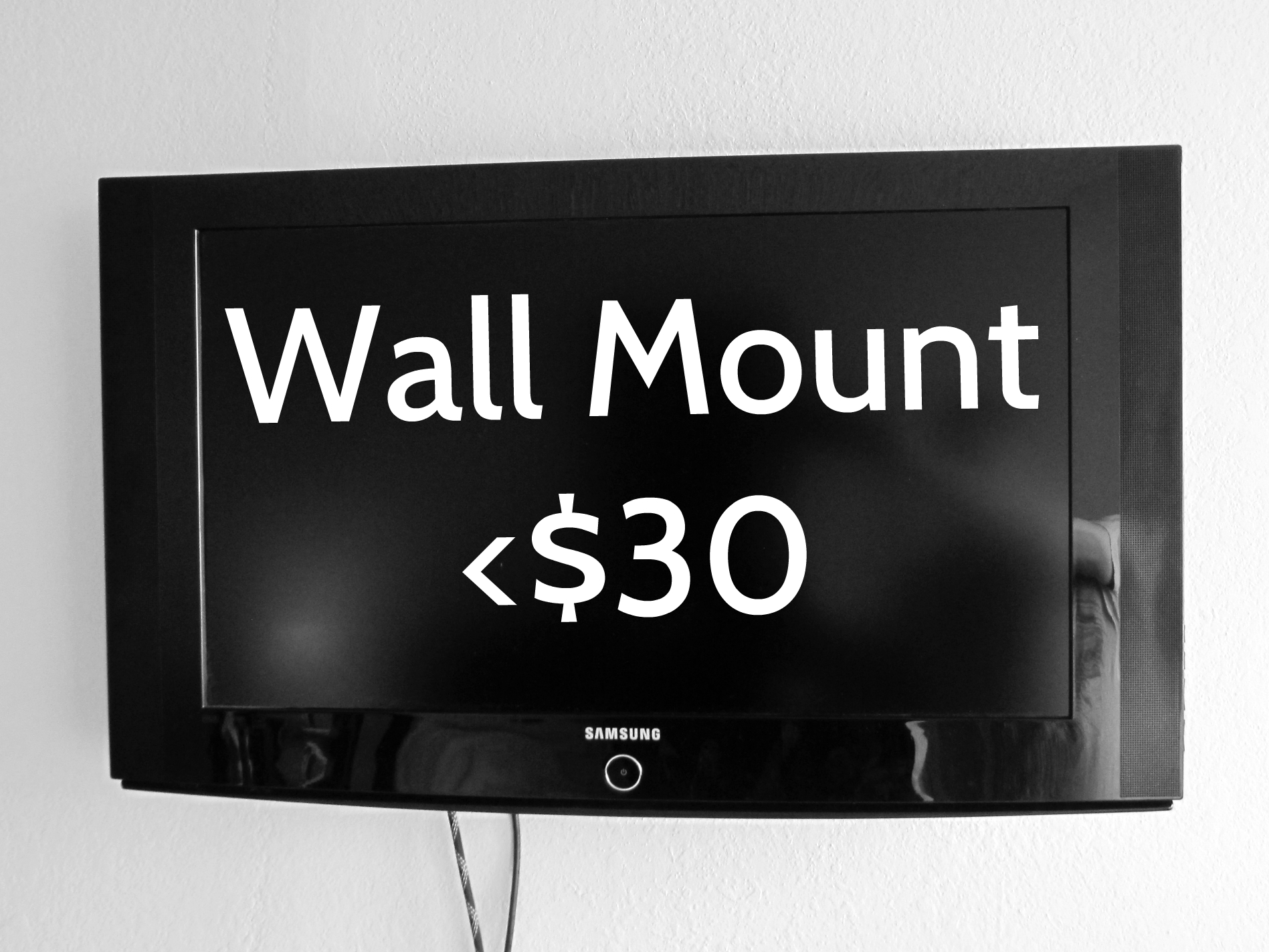 How to Wall Mount a Television (using a Cheetah Mount)