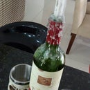 Wine Candle Deco