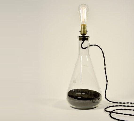 Erlenmeyer Flask Lamp