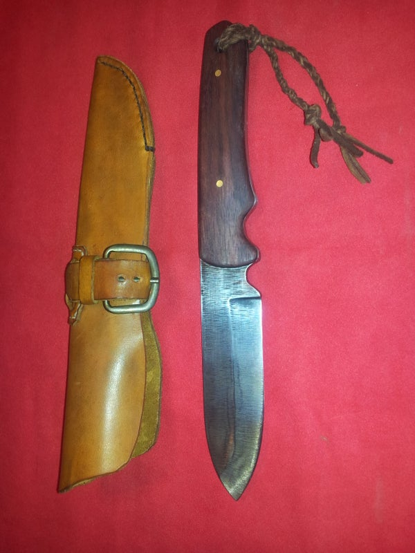 Creating a Bush Knife From an Old Hand File