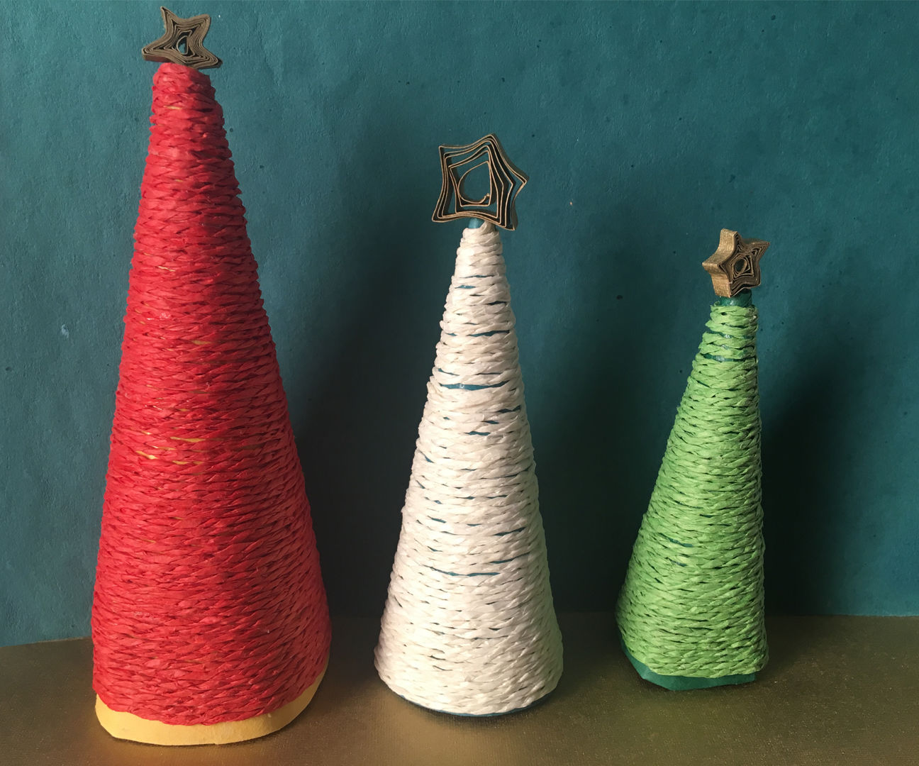 How To Make A Christmas Tree   DIY Miniature Christmas Tree   DIY Christmas Home Decor