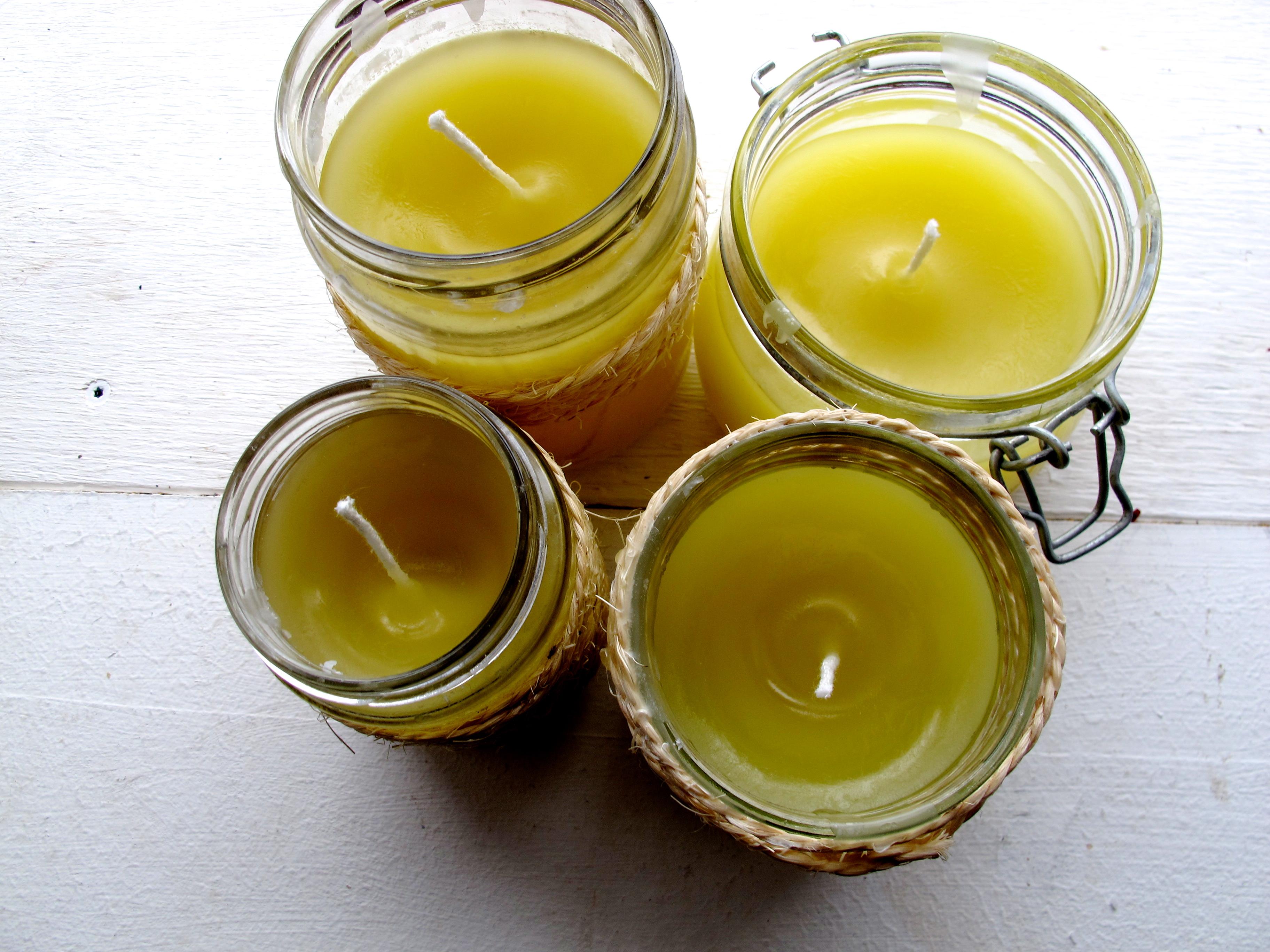 DIY Jar Candles