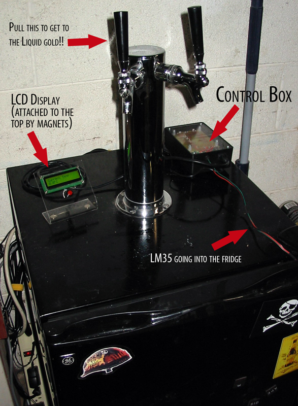 Digital Thermostatic Beer Refreshment Regulator