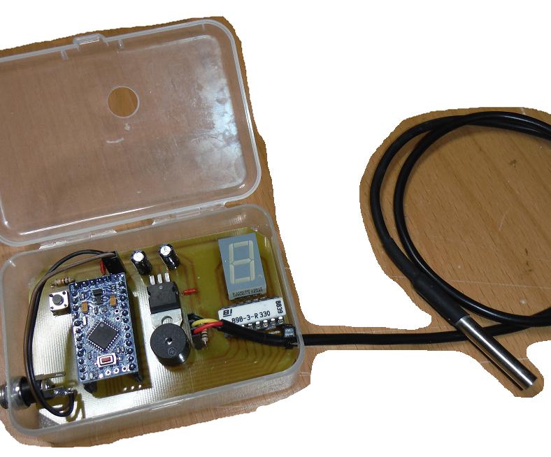 Arduino egg boil timer for lazybones